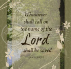 Call On The Lord – 5×7 Inch Digital Art / Download and Print
